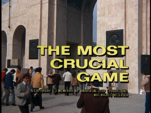 Columbo: The Most Crucial Game