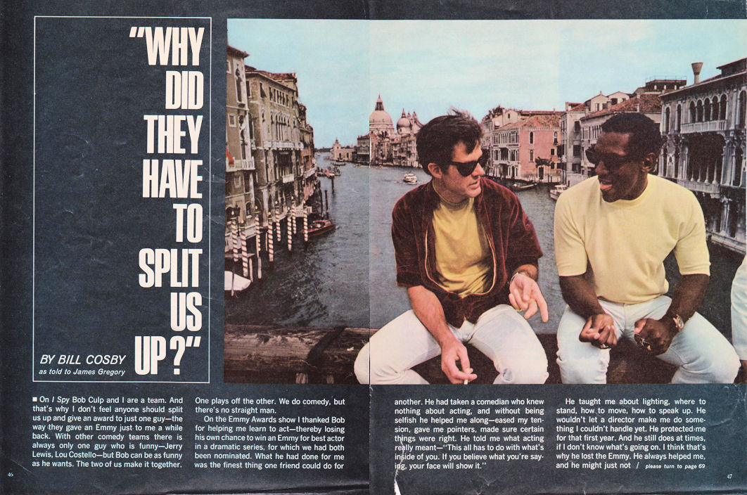 Why Did They Have to Split Us Up? - Motion Picture Magazine, January 1967