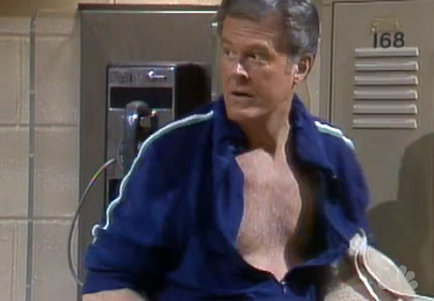Robert Culp on Saturday Night Live