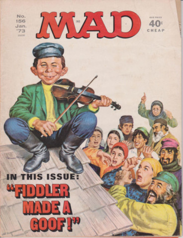 Mad Magazine January 1973