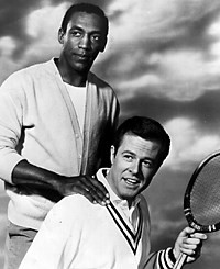 Robert Culp and Bill Cosby as Kelly Robinson and Alexander Scott in I SPY