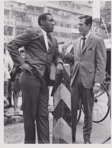 Robert Culp with Bill Cosby in I SPY
